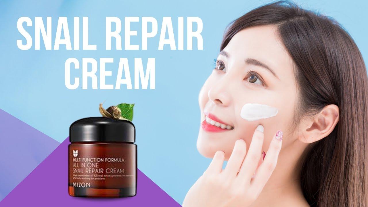 6 Best Snail Repair Cream Korean Skincare Youtube