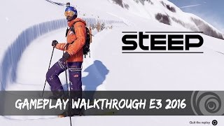 STEEP - Gameplay Walkthrough - E3 2016 | Ubisoft [DE]