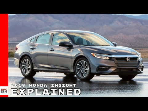 2019 Honda Insight Explained