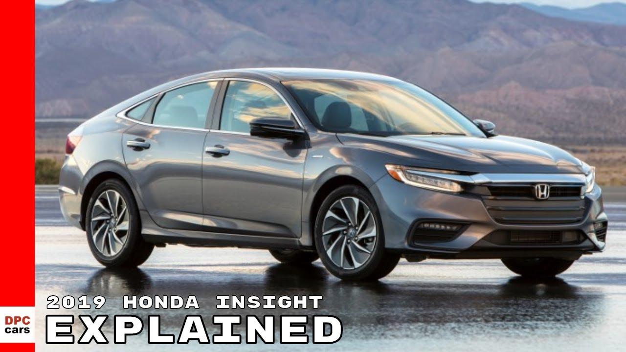 2019 Honda Insight Explained