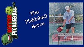 Pickleball Serve-Legal and Effective