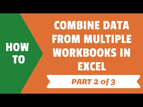 Combine Data from Multiple Workbooks in Excel (using Power