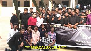Merxalux 2018 || Commerce Fest || Placid Vidya Vihar School ||