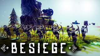 DESTROY ALL THE THINGS!! | Besiege