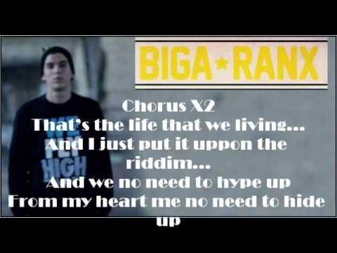 Biga Ranx Brigante Life Lyrics