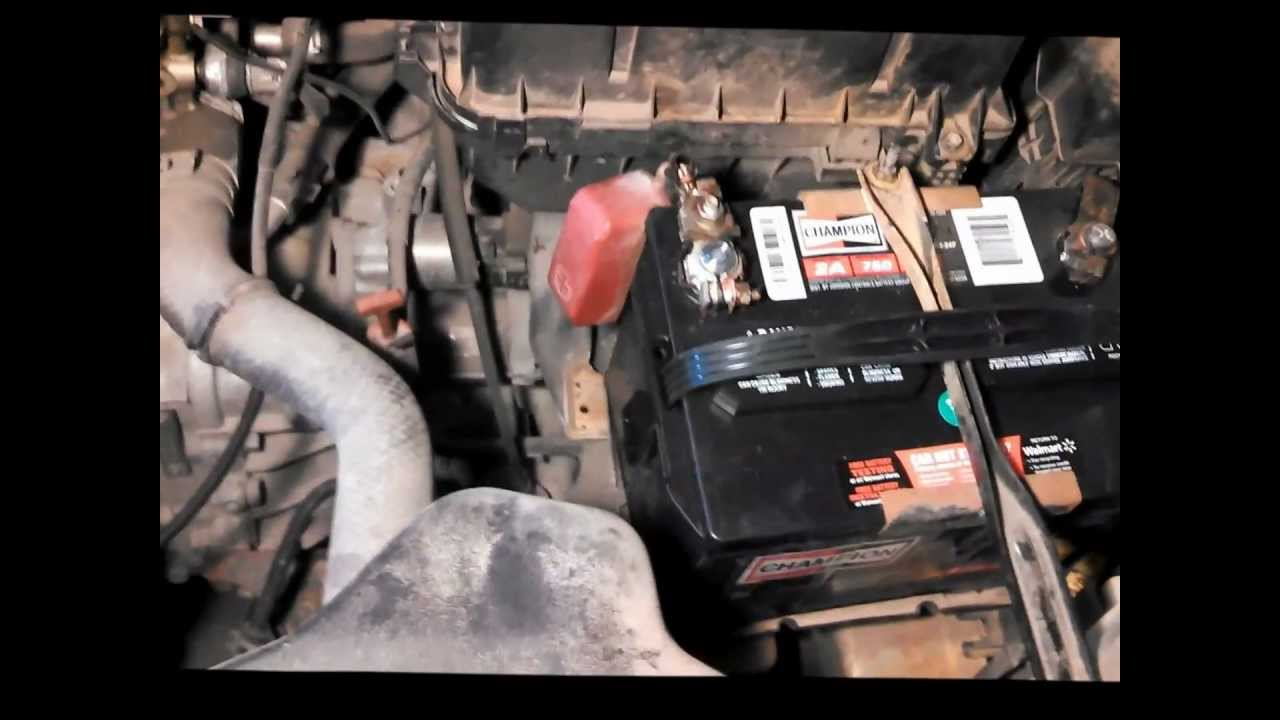 Toyota Camry Starter Replacement - YouTube