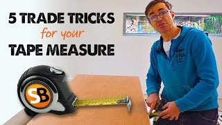 Many Pros Didn't Know Tip 3 - Tape Measure Hacks
