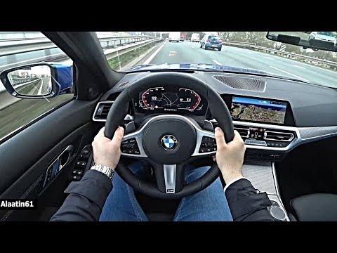 The New BMW 3 Series 2020 POV Test Drive