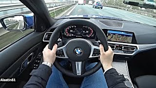 The New BMW 3 Series 2019/2020 POV Test Drive