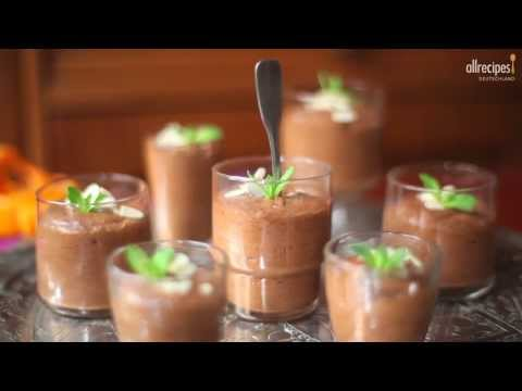 Dessert Rezept: Mousse au Chocolat mit Orange selber machen