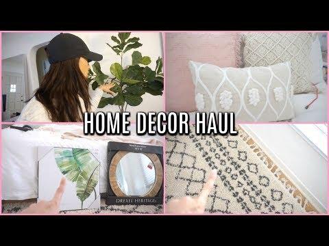 NEW Home Decor HAUL 2018   HOMEGOODS, TJMAXX, MARSHALLS, TARGET