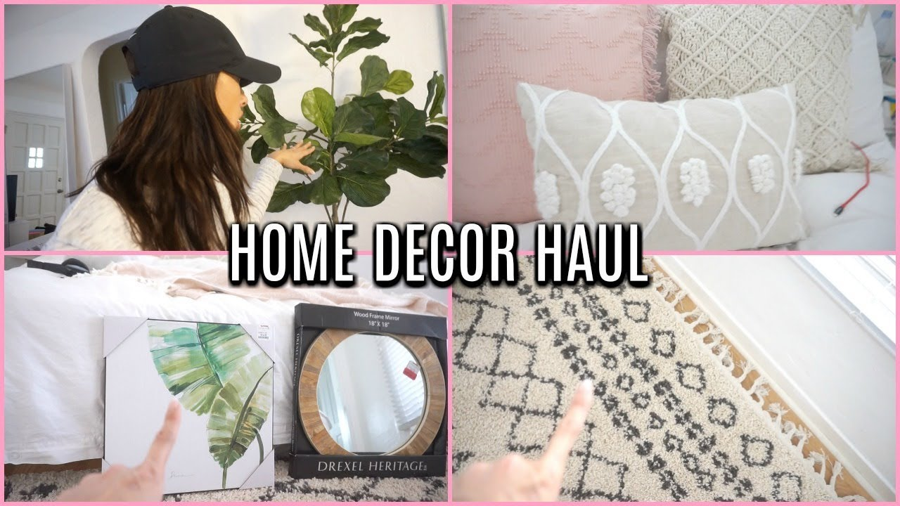 eca0c6f48ff NEW Home Decor HAUL 2018