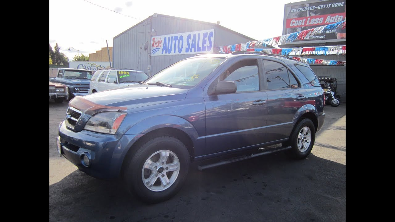 2005 Kia Sorento Lx 4x4 3495 Youtube