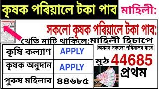 farmers scheme Assam career news today ! cultivators instruments, farmers market income updates 2020