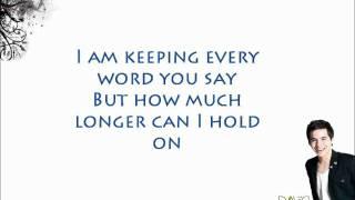 David archuleta - wait w/ lyrics on screen