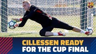 SEVILLA - BARÇA | Cillessen shines ahead of the Copa del Rey final thumbnail