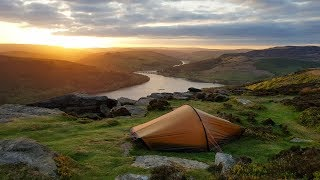 Wild camping on Bamford Edge with the Hilleberg Akto