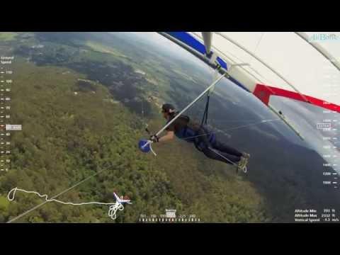Hang Gliding - Mt Tamborine QLD, Aust. (141226)