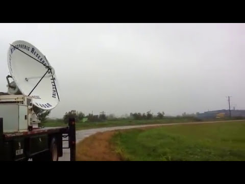 Inside Hurricane Isaac's Eye  An Eerie Calm  Video