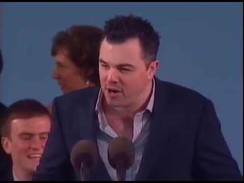 """Family Guy"" Creator Seth MacFarlane Class Day 