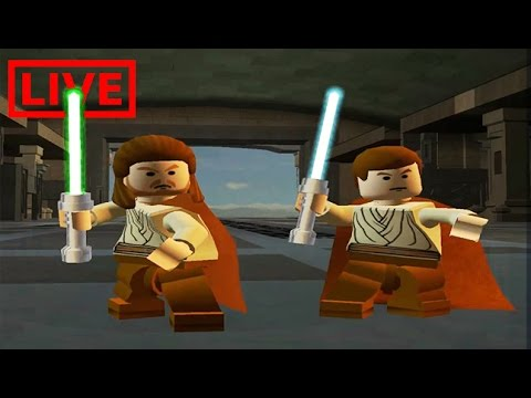 LIVE -  LEGO Star Wars: Episode 1/2 - (Dutch/NL/Nederlands) #1