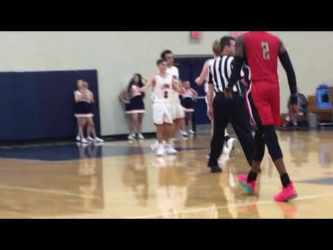 LakeView Academy vs. George Walton Academy| High School Boys Basketball| Heated game in overtime!!