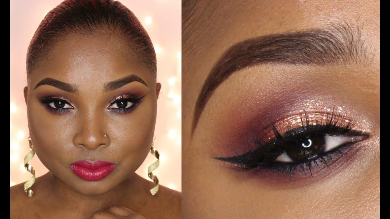 holiday glitz makeup collab with mscreativediva full