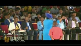 Repeat youtube video Dr Becky Enenche Live - RCCG Youth Convention Lagos