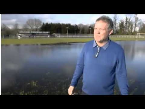 Arundel FC has been hit hard by the flooding