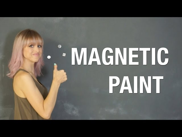 Magnetic Paint Does It Work Superholly Youtube