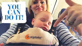 HOW TO TRAVEL WITH KIDS : BEST TRAVEL TIPS from a Flight Attendant Mother of 3 under 4 | Travel Vlog