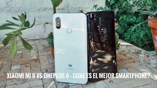 Xiaomi Mi 8 vs OnePlus 6 - La Comparativa definitiva