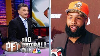 Odell Beckham Jr.'s appearance at Browns' OTAs will be helpful | Pro Football Talk | NBC Sports