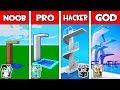 Minecraft - NOOB Vs PRO Vs HACKER Vs GOD : FAMILY DIVING BOARD In Minecraft Animation