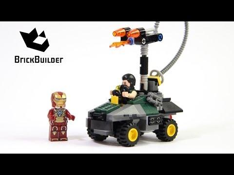 Lego Super Heroes 76008 Iron Man vs. The Mandarin: Ultimate Showdown - Lego Speed Build