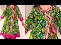 Angrakha kurti cutting & Stitching tutorial