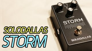 SoloDallas Storm - NEW 2019 Version (Angus Young's Schaffer Preamp Circuit)