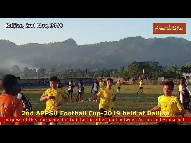 United Doimukh FC lift the 2nd APPSU football cup-2019