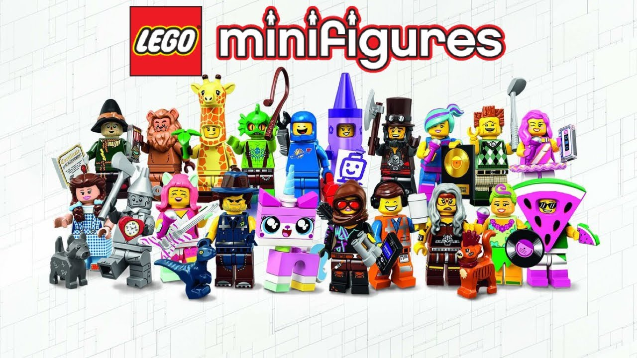 The Lego Movie 2 Minifigures Sherry Scratchen Brand New 71023