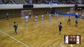 6日 ハンドボール男子 あづま総合体育館 Bコート 不来方vs山陽 2回戦 2