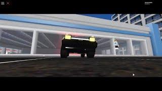 Pavimento con un AE86 (Vehicle Simulator Roblox)