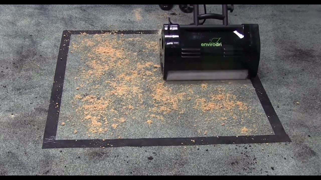 Envirodri Dry Carpet Cleaning System By Cleantec