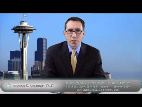 Securities Fraud and Investment Loss Attorneys in Denver and Seattle