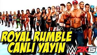 Video WWE 2K15 | CANLI ROYAL RUMBLE YAYINI, KADINLAR | Ibo , Momo download MP3, 3GP, MP4, WEBM, AVI, FLV September 2018