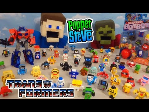 Download Transformers Botbots Bumblebee Movie - COMPLETE 61 Figures Blind Box Collection Checklist