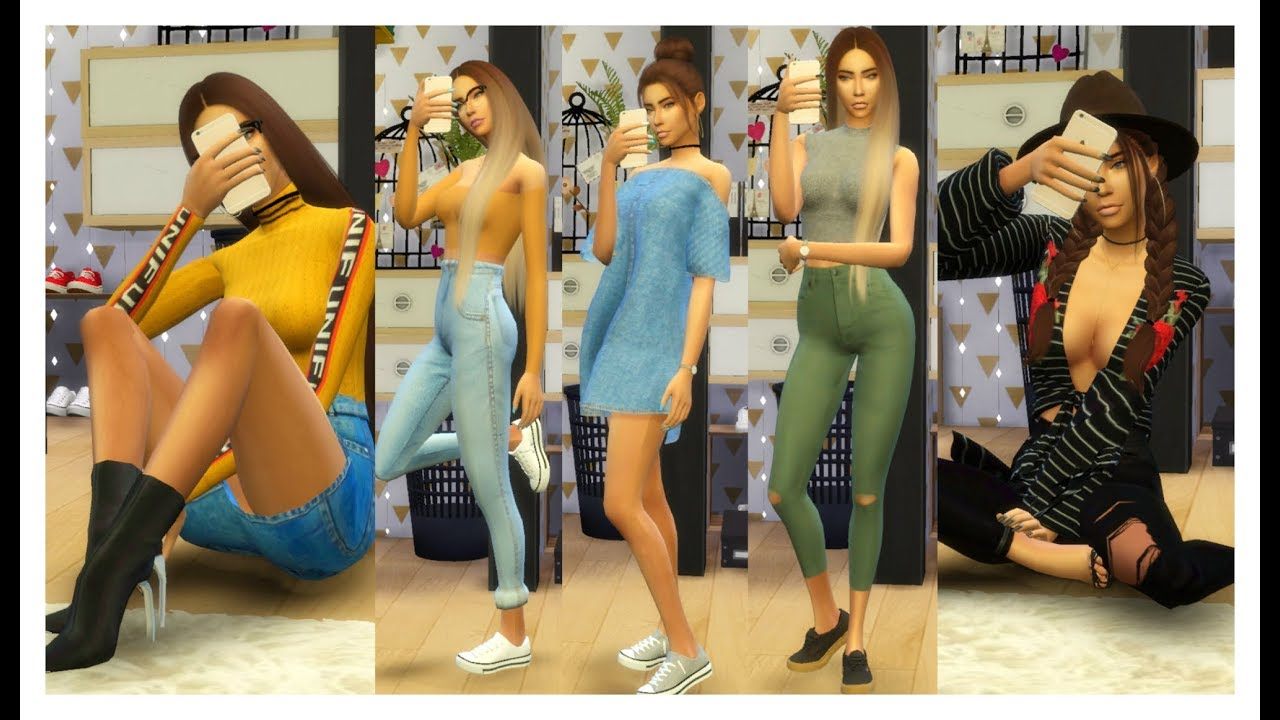 The Sims 4 | Outfits Of The Week | OUTFIT IDEAS 2017 + CC List