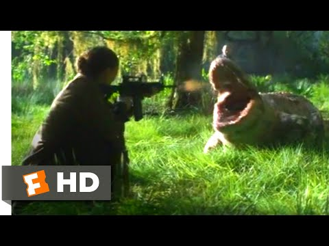 Annihilation (2018) - Albino Alligator Attack Scene (1/10) | Movieclips