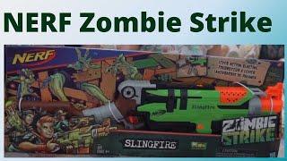 NERF SLINGFIRE ZOMBIE STRIKE - THE BEST NERF EVER - 1DoctorGenius & his Nerf Kingdom