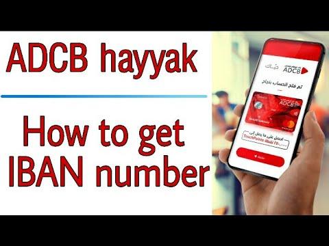 IBAN Number | International Bank Account Number UAE | #ADCBHayyak