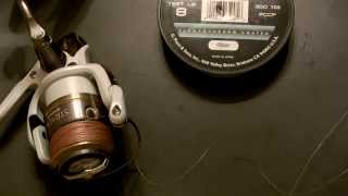 Tying a Mono or Fluoro Leader onto Braided Line The Fish Fin-atic way.